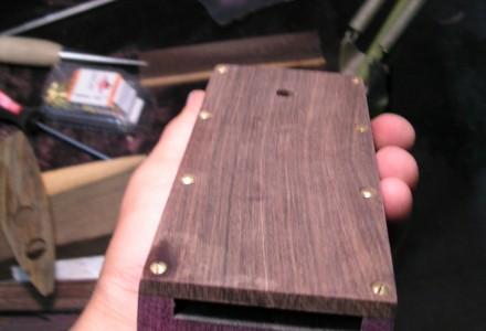 The Soundboard after Sanding
