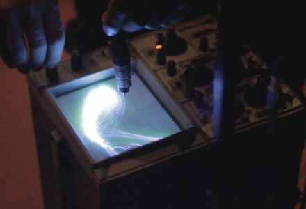 Pendulum Music (transcribed for Oscilloscope and Photodiodes)